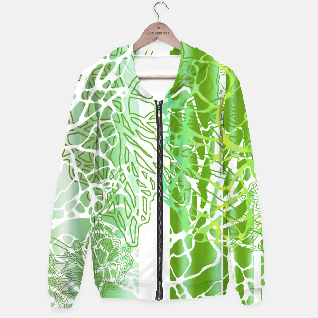 Image of THE GREEN OCEAN Hoodie - Live Heroes