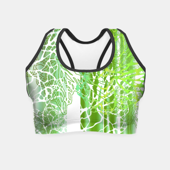 THE GREEN OCEAN Crop Top thumbnail image