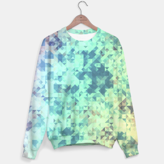 Thumbnail image of Light Geo Abstract Sweater, Live Heroes