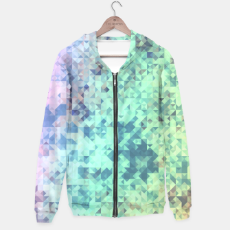 Thumbnail image of Light Geo Abstract Hoodie, Live Heroes
