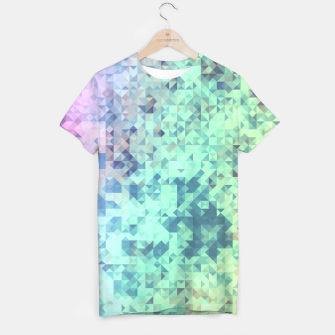 Thumbnail image of Light Geo Abstract T-shirt, Live Heroes