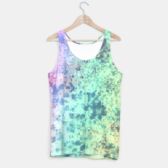 Miniaturka Light Geo Abstract Tank Top, Live Heroes