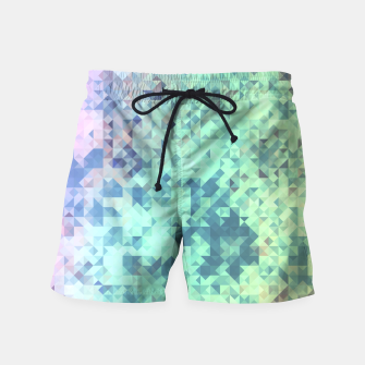 Thumbnail image of Light Geo Abstract Swim Shorts, Live Heroes