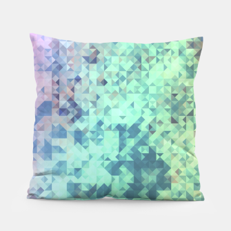 Thumbnail image of Light Geo Abstract Pillow, Live Heroes