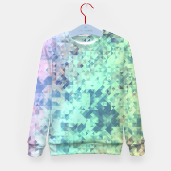 Thumbnail image of Light Geo Abstract Kid's Sweater, Live Heroes