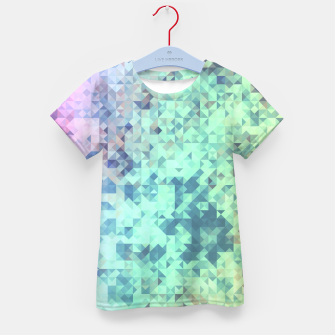 Thumbnail image of Light Geo Abstract Kid's T-shirt, Live Heroes