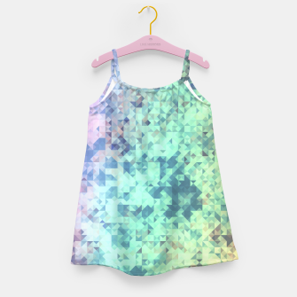 Thumbnail image of Light Geo Abstract Girl's Dress, Live Heroes