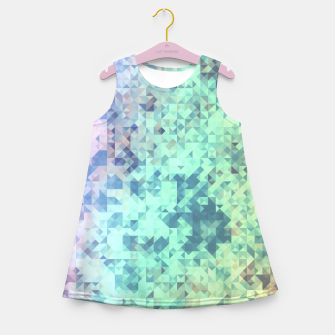 Thumbnail image of Light Geo Abstract Girl's Summer Dress, Live Heroes
