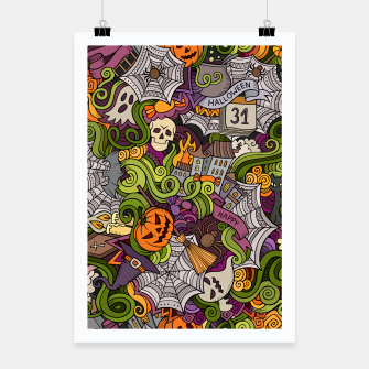 Thumbnail image of Halloween Poster, Live Heroes