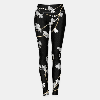 Miniatur Baroque & Japanesque decoration  Leggings, Live Heroes