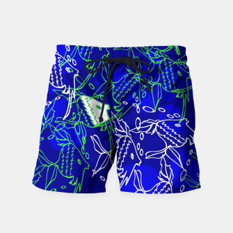 Thumbnail image of FISHES IN SEA Swim Shorts, Live Heroes