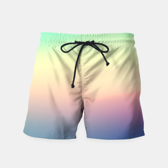 Thumbnail image of Rainbow Swim Shorts, Live Heroes