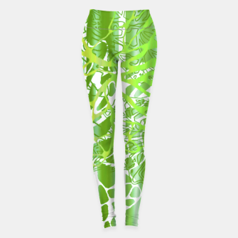 Thumbnail image of THE GREEN OCEAN Leggings, Live Heroes