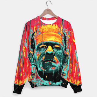 Thumbnail image of Frankenstein Sweater, Live Heroes