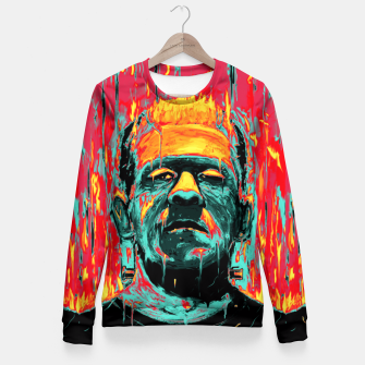 Frankenstein Fitted Waist Sweater Bild der Miniatur