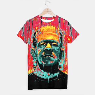 Thumbnail image of Frankenstein T-shirt, Live Heroes