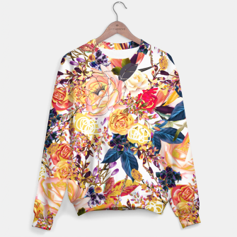Thumbnail image of Rustic Floral Sweater, Live Heroes