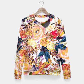 Thumbnail image of Rustic Floral Fitted Waist Sweater, Live Heroes