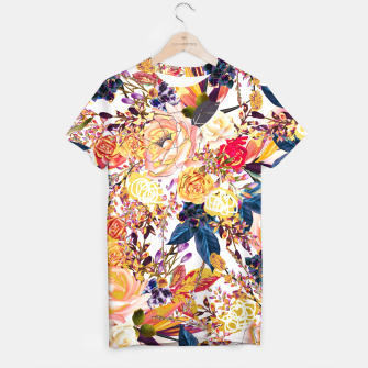 Thumbnail image of Rustic Floral T-shirt, Live Heroes