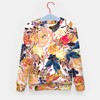 Thumbnail image of Rustic Floral Kid's Sweater, Live Heroes