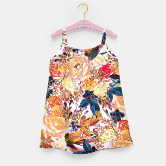 Thumbnail image of Rustic Floral Girl's Dress, Live Heroes