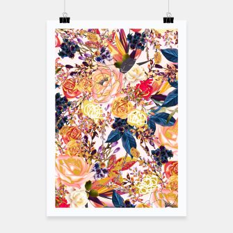 Thumbnail image of Rustic Floral Poster, Live Heroes