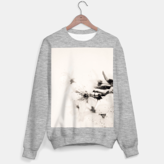 Thumbnail image of Monochrome Blossoms Close-up Sweater regular, Live Heroes