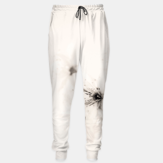 Miniature de image de Monochrome Blossoms Close-up Sweatpants, Live Heroes