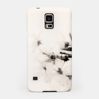 Thumbnail image of Monochrome Blossoms Close-up Samsung Case, Live Heroes