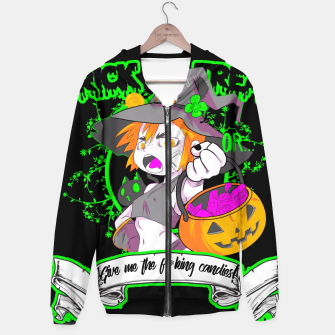 Thumbnail image of Trick or Treat black Sudadera con capucha, Live Heroes