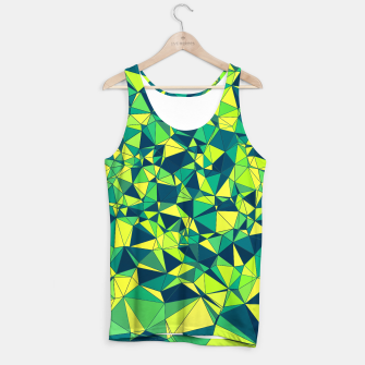 Thumbnail image of Greenery Polygonal Pattern Tank Top, Live Heroes