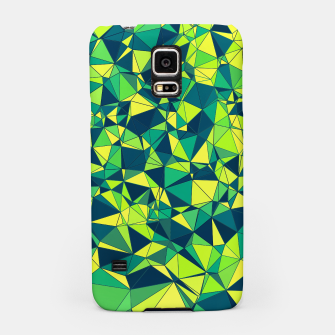 Thumbnail image of Greenery Polygonal Pattern Samsung Case, Live Heroes