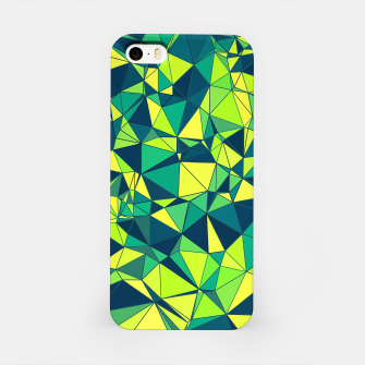 Thumbnail image of Greenery Polygonal Pattern iPhone Case, Live Heroes