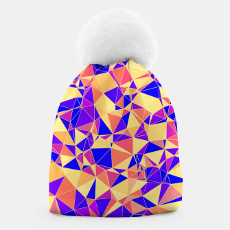 Thumbnail image of Abstract Colorful Low Poly Pattern Beanie, Live Heroes