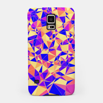Miniaturka Abstract Colorful Low Poly Pattern Samsung Case, Live Heroes