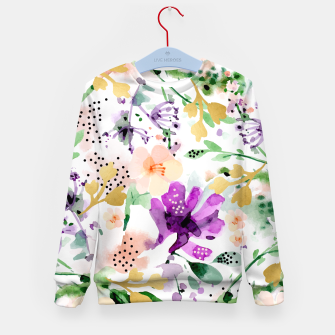 Thumbnail image of Violet Kid's Sweater, Live Heroes