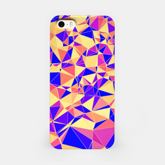 Thumbnail image of Abstract Colorful Low Poly Pattern iPhone Case, Live Heroes