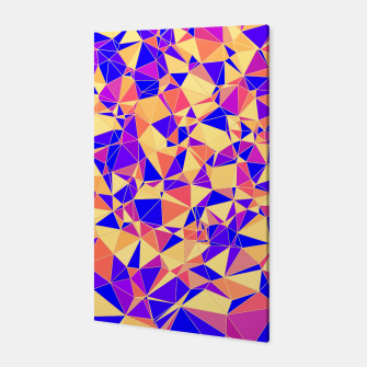 Thumbnail image of Abstract Colorful Low Poly Pattern Canvas, Live Heroes