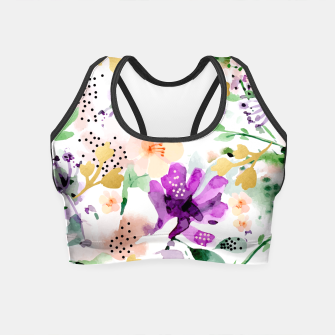Thumbnail image of Violet Crop Top, Live Heroes