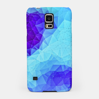Thumbnail image of Blue Low Poly Design Samsung Case, Live Heroes