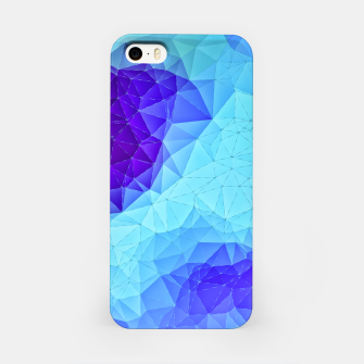 Thumbnail image of Blue Low Poly Design iPhone Case, Live Heroes