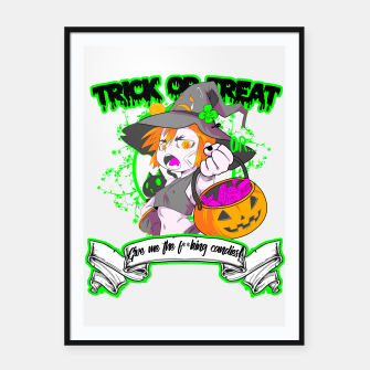 Thumbnail image of Trick or Treat Cartel con marco, Live Heroes