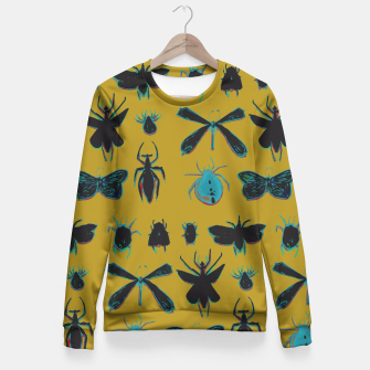 Thumbnail image of Warhol Entomology Fitted Waist Sweater, Live Heroes