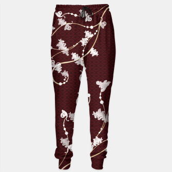 Miniature de image de Japanese traditional pattern & Baroque decoration Sweatpants, Live Heroes