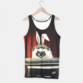 Thumbnail image of Hedgehog rabbit Tank Top, Live Heroes