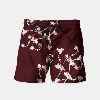 Thumbnail image of Japanese traditional pattern & Baroque decoration Swim Shorts, Live Heroes
