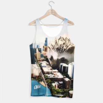 Thumbnail image of Hedgehog BIG Tank Top, Live Heroes