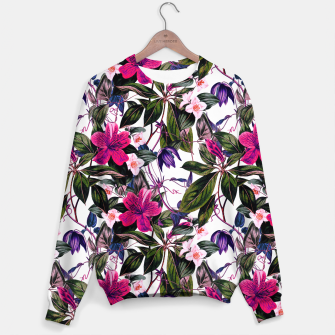 Thumbnail image of Pattern antique botanical flowers01 Sudadera, Live Heroes