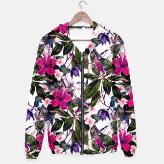 Thumbnail image of Pattern antique botanical flowers01 Sudadera con capucha, Live Heroes