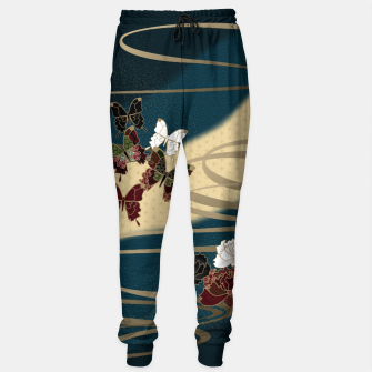 Miniature de image de Japanesque butterfly & flower Sweatpants, Live Heroes